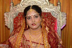 Bengali Bride Stock Photo