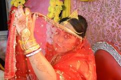 Bengali Bride Royalty Free Stock Images