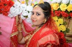 Bengali Bride Stock Photography