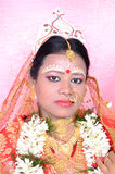 A Bengali Bride Stock Photos