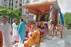 Bengali community at Kolkata Stock Photo