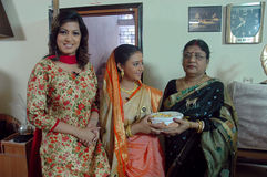 Bengali Community at Kolkata Stock Images