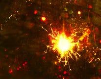 Bengali fire. Festive new year background Stock Image