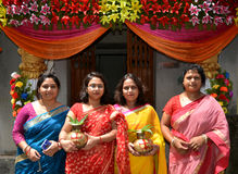 Bengali-Gemeinschaft Lizenzfreie Stockfotografie