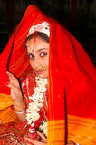 bengali gifta sig för india ritualer Arkivfoton