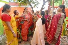 bengali gifta sig för india ritualer Royaltyfria Bilder