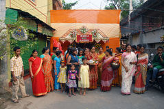 bengali gifta sig för india ritualer Royaltyfri Foto