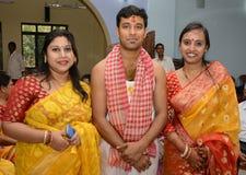 Bengali Groom royalty free stock photos