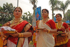 Bengali kvinnor Fotografering för Bildbyråer