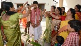 Bengali Marriage Rituals Royalty Free Stock Photos