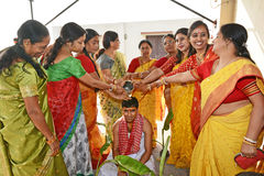 Bengali Marriage Rituals Royalty Free Stock Photos