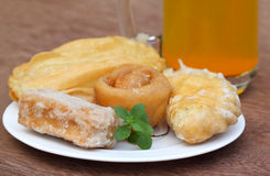 Bengali treats named as GOJA Royalty Free Stock Photo