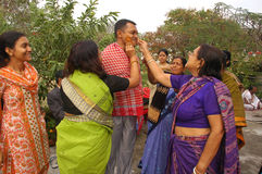 Bengali wedding Rituals in India Royalty Free Stock Photos