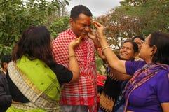 Bengali wedding Rituals in India Royalty Free Stock Image