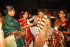 Bengali wedding Rituals in India Royalty Free Stock Photography