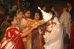 Bengali wedding Rituals in India Royalty Free Stock Image