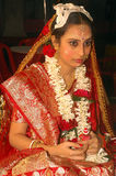 Bengali wedding Rituals in India Stock Images