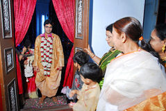 Bengali Wedding Rituals in India Stock Photo