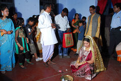 Bengali Wedding Rituals in India Stock Photography