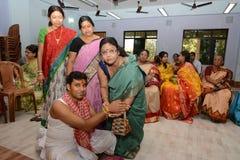 Bengali Wedding Rituals in India Stock Image