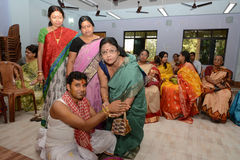 Bengali Wedding Rituals in India Stock Image