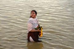 Bengalska kobieta Obraz Royalty Free