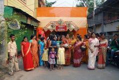 bengalski ind rytuałów target2938_1_ Zdjęcie Royalty Free