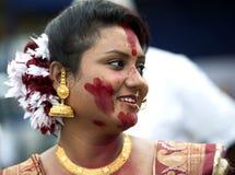 Bengalski kobieta portret obrazy royalty free