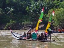 Bengawan Solo festiwal Otwierający Surakarta Mayor Obraz Royalty Free