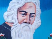Bengly poety Rabindra matematyki światowy tagor obrazy stock