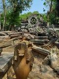 Bengmeanlea-in Angkor Wat van Kambodja Stock Foto's