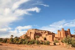 benhaddou Марокко ait Стоковая Фотография