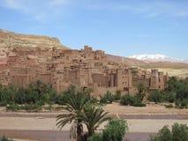 Benhaddou Maroc Afrique du Nord d'AIT Photos stock