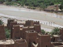 Benhaddou Maroc Afrique du Nord d'AIT Photographie stock