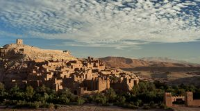 benhaddou Maroc d'AIT Images stock