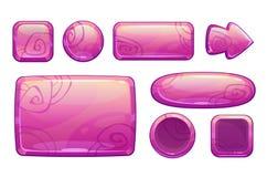 Beni lucidi rosa del gioco messi royalty illustrazione gratis