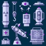 Beni piani del gioco del laboratorio royalty illustrazione gratis