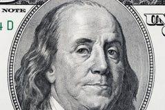 beniaminu Franklin portret Obrazy Stock