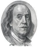 beniaminu Franklin wizerunek Obrazy Royalty Free