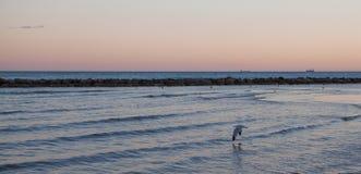 Benicassim plaża Fotografia Stock