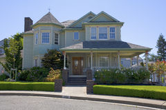 Benicia Home. Exterior shot of a home in Benicia, CA Royalty Free Stock Photography