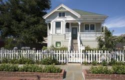 Benicia Victorian Home. Exterior shot of a home in Benicia, CA Stock Photos