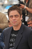 Benicio Del托罗 免版税库存照片