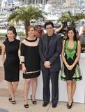 Benicio Del Toro, Franka Potente, Julia Ormond, Catalina Moreno Stock Photo