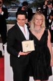 Benicio Del Toro, Laura Bickford Stock Images