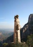 benidictine monk grób zdjęcie royalty free