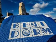 Benidorm lizenzfreies stockfoto