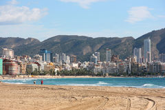 Benidorm Royalty Free Stock Image