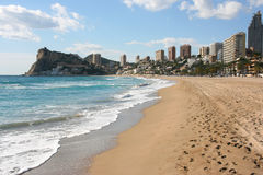 Benidorm foto de stock royalty free