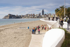 Benidorm Photographie stock